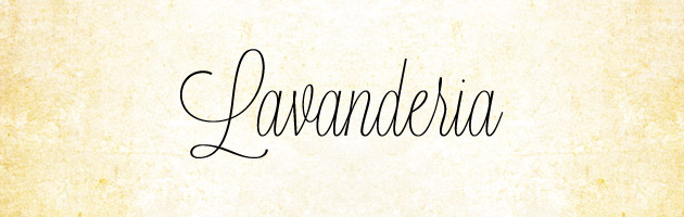 Lavanderia | 細身で背の高い品のある筆記体フリーフォント。商用可。