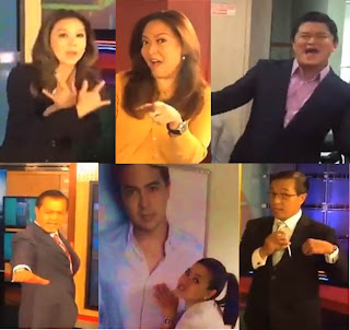 ABS-CBN News anchors and reporters unwind with I want It That Way