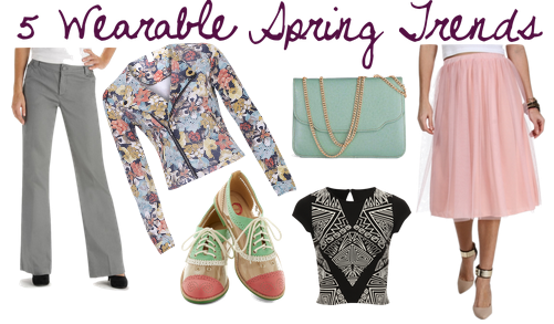 5 Wearable 2014 Spring Fashion Trends | maegal.blogspot.com