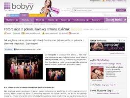 Wywiad ze mną na temat mojego pokazu na Bobyy.pl