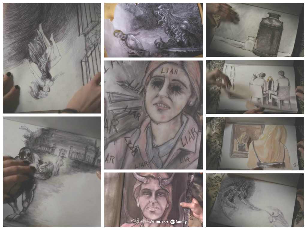 Bethany's sketches Pretty Little Liars