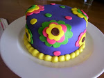 Groovy Girl Cake