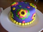 Groovy Girl Cake