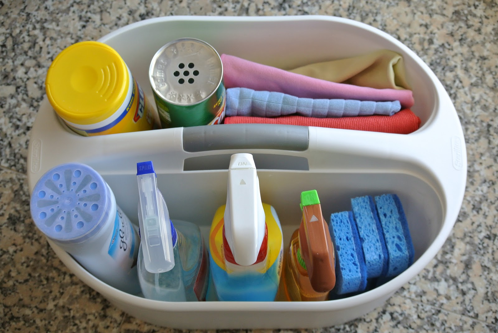 How To Organize A Cleaning Kit Be Motivated To Clean