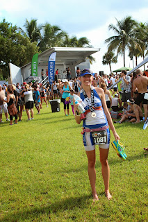 Finish Line Party at Escape to Miami Triathlon