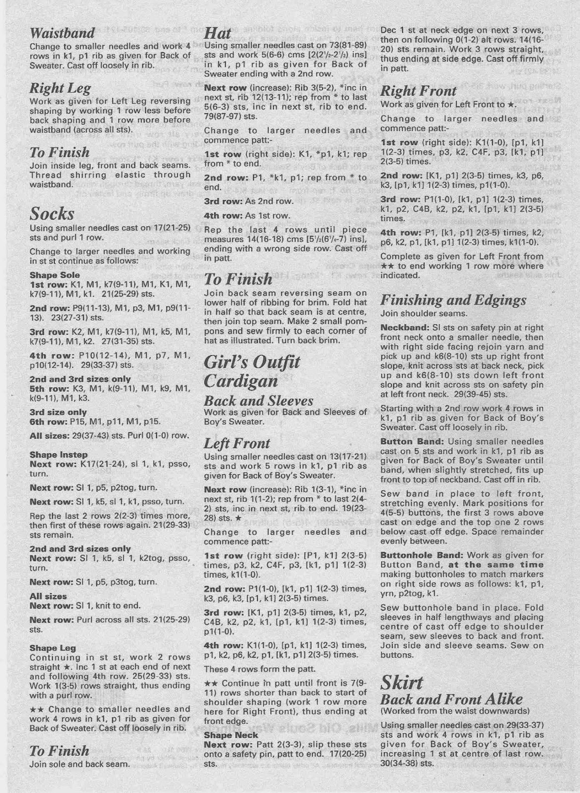 Knitting Pattern Numbers : Herbies Doll Sewing, Knitting & Crochet Pattern Collection: Vintage ...