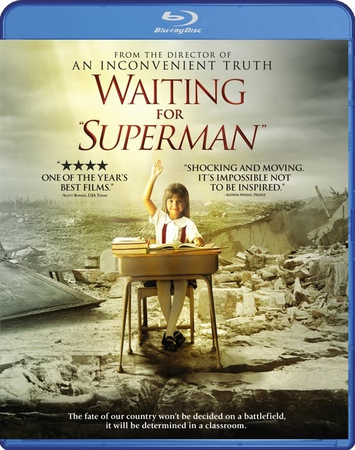 Waiting For Superman (Esperando a Superman)(2010) m720p BRRip 2.9GB mkv Dual Audio AC3 5.1 ch