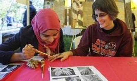 Mahasiswa Muslim AS Kian Aktif Promosikan Islam