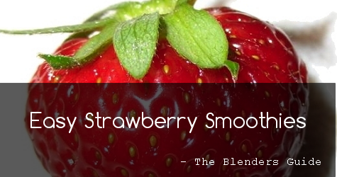 make-easy-strawberry-smoothies