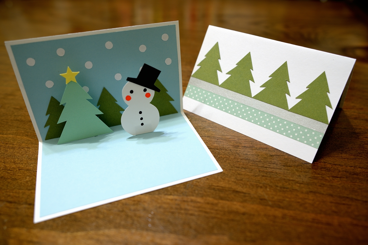 Paper and plates snowman pop up card for Pop up card craft