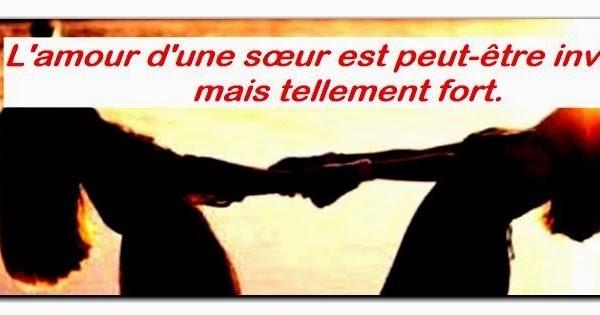 Super SMS d'amour 2018 - SMS d'amour message: Message d'amour a sa soeur ME63