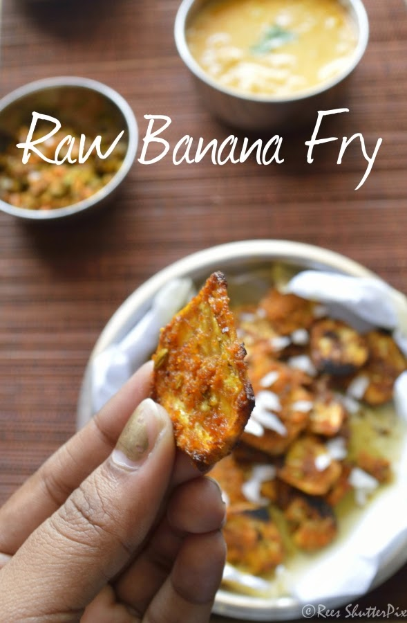 vazhakkai varuval recipe, chettinad vazhakkai varuval recipe, raw banana fry recipe,