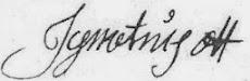 gen.1: Ignatius B. Ott ( ? - 1752)
