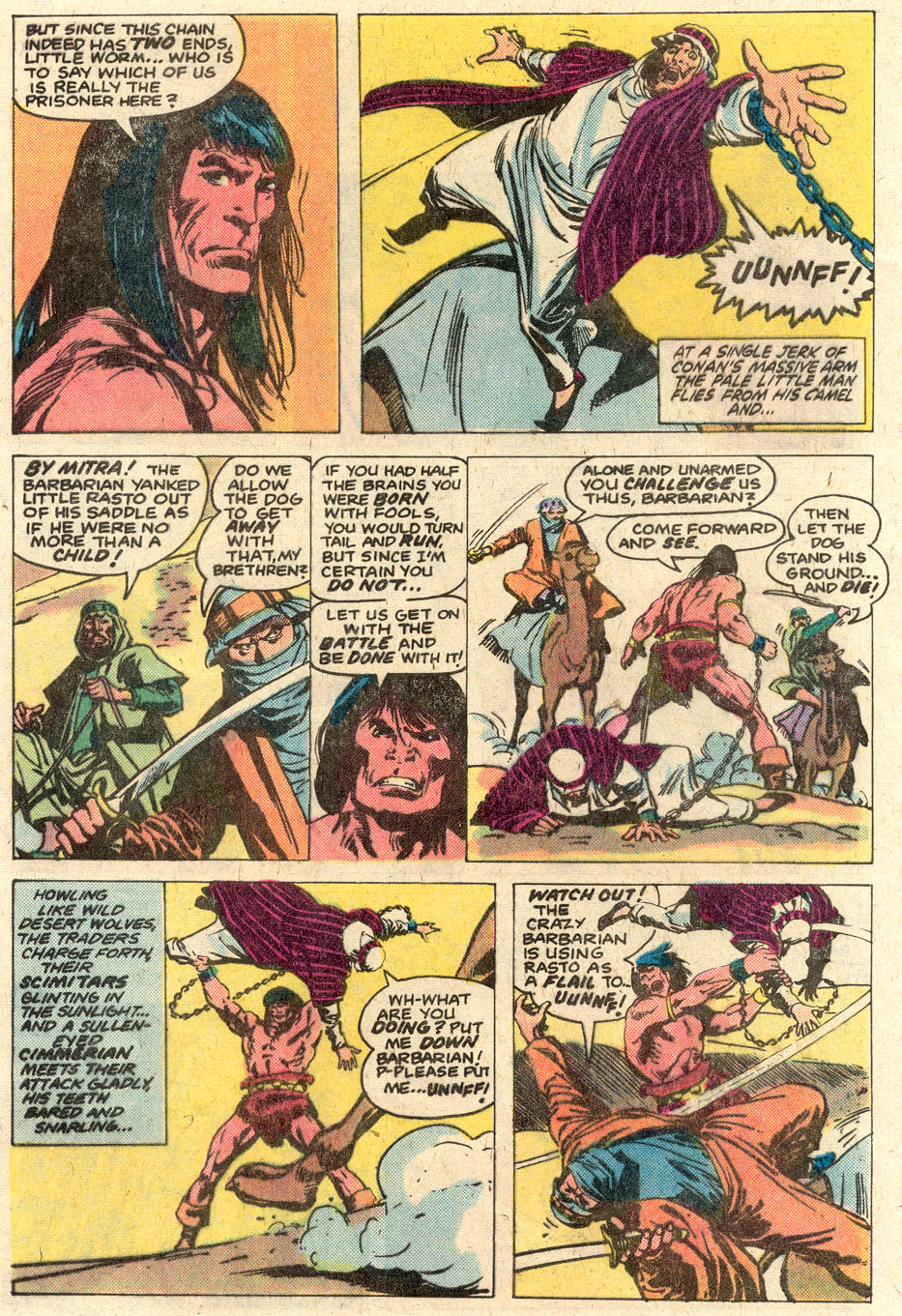 Conan the Barbarian (1970) Issue #116 #128 - English 6