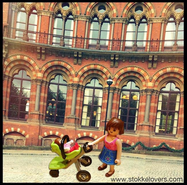 Playmobil Xplory at St Pancras Station