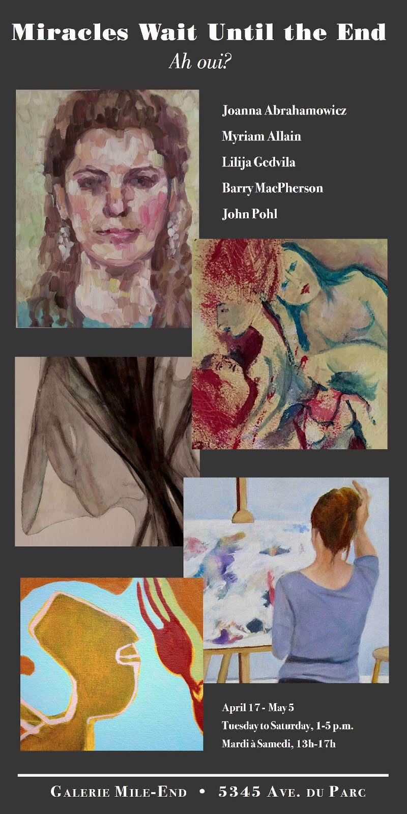 Upcoming Exhibitions/Joanna Abrahamowicz