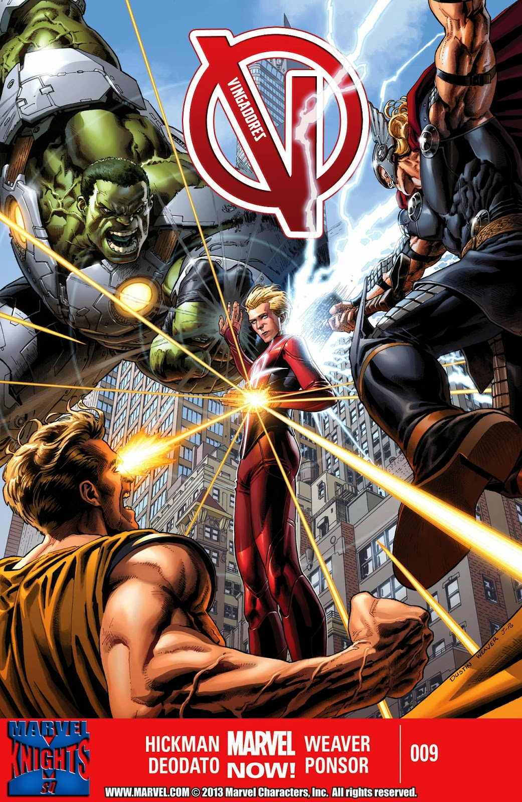 Nova Marvel! Vingadores v5 #9