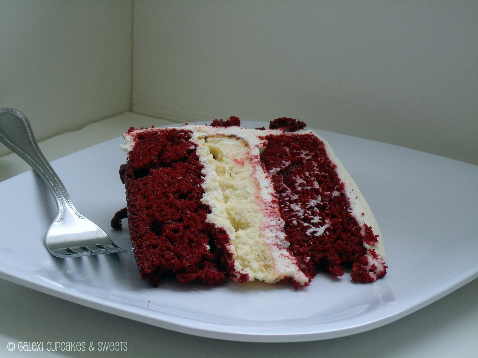 Red Velvet Cheesecake Cake Recipe — Dishmaps