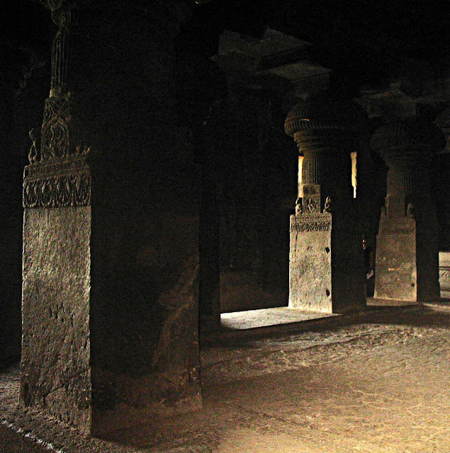 pillars of ellora temples
