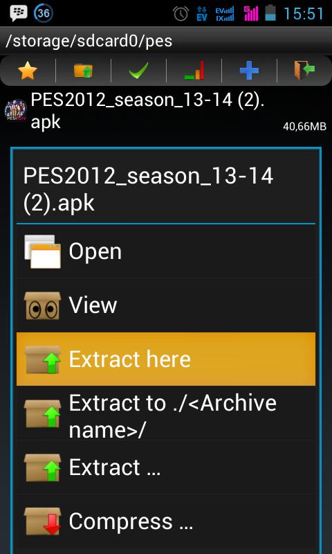 ... .Blogspot.com: Cara edit pemain pes 2012 v.1.0.5 di android