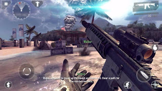 Modern Combat 4: Zero Hour v1.1.7c Apk + Mod + Data for Android