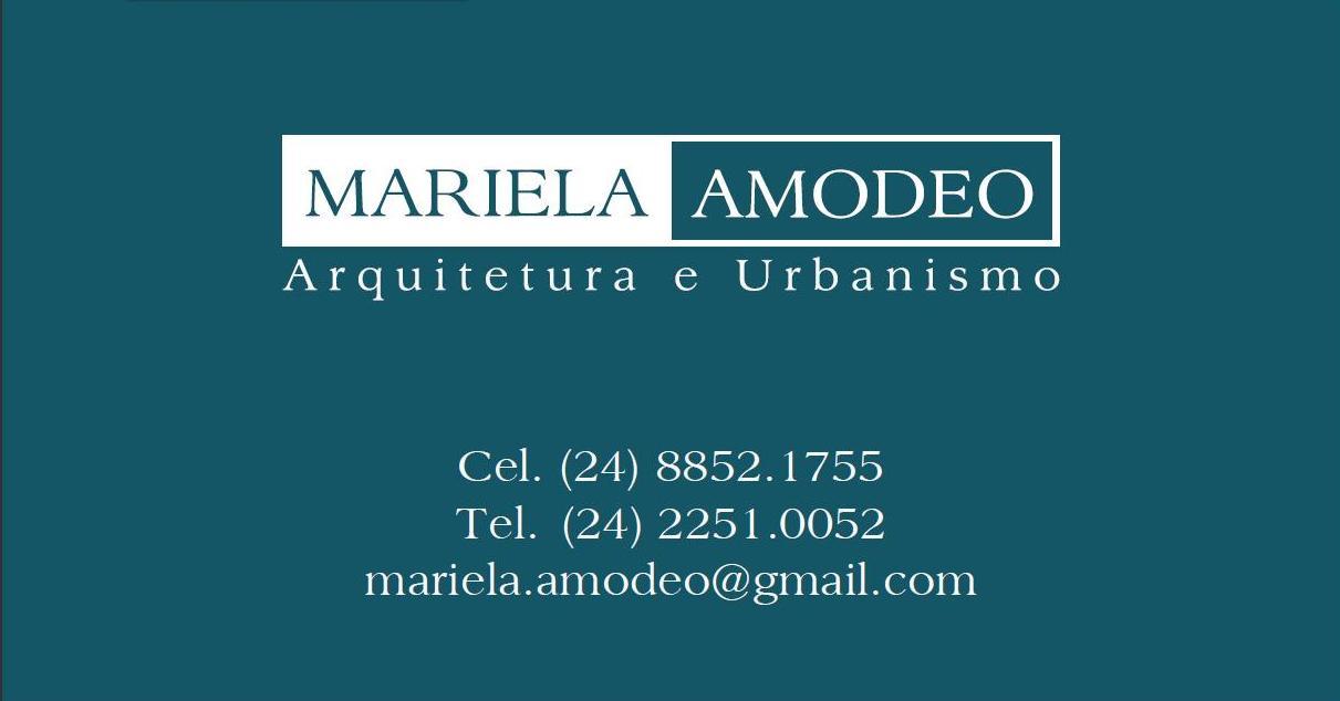 Mariela Amodeo Arquitetura e Design