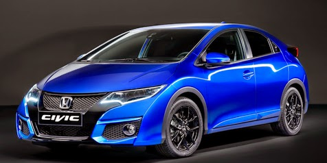 Honda Civic R and ' Facelift ', a selection of Cars by 2015