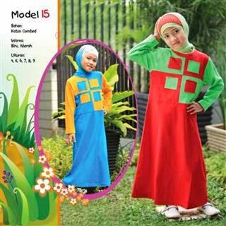 Grosir Baju Gamis Anak Perempuan Model Terbaru