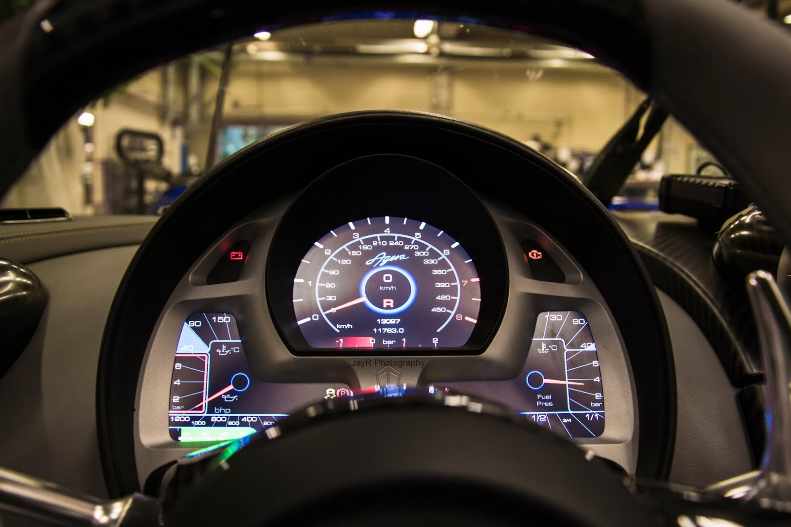 Fully Digital Display On The Koenigsegg Agera.