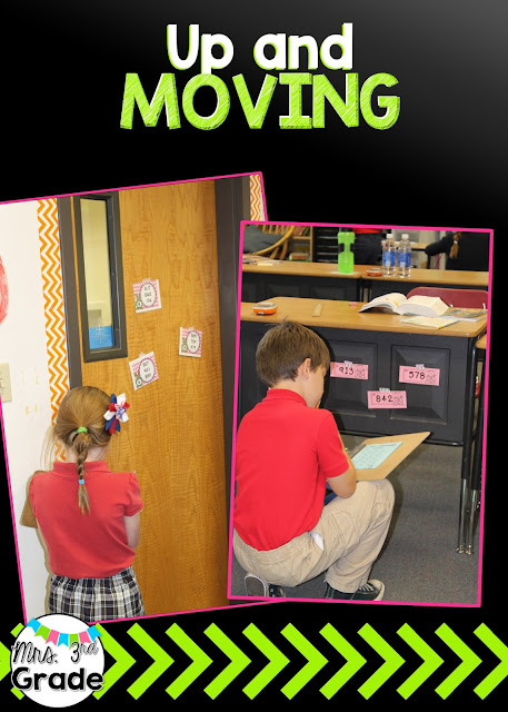 Get students up and moving to keep them engaged in lessons