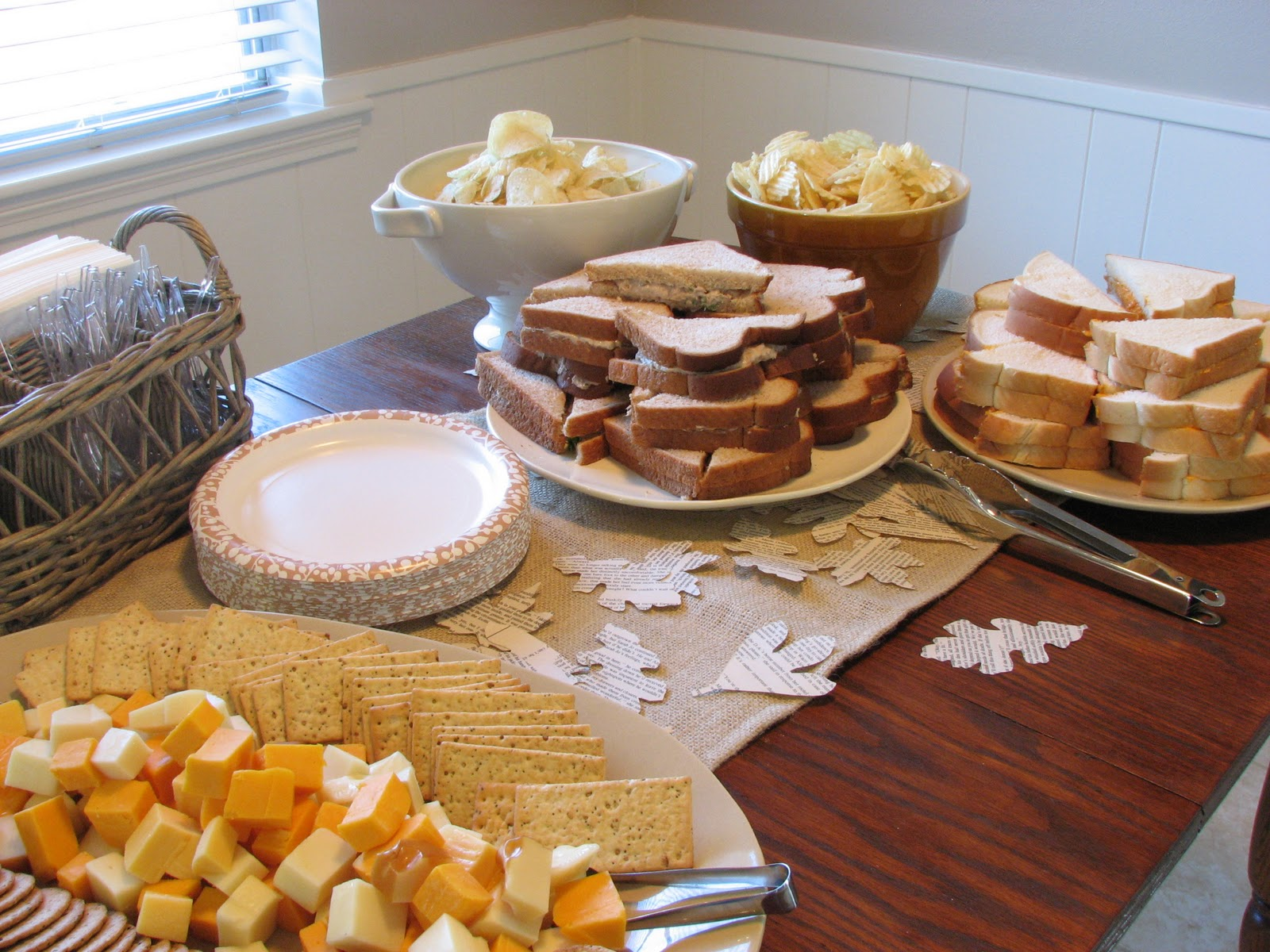 Our nesting ground housewarming for Finger food ideas for housewarming party