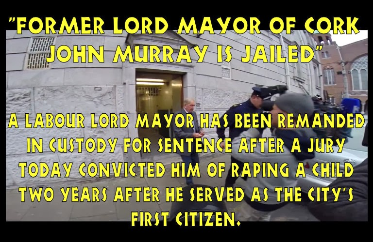 Labour Lord Mayor John Murray jailed for child rape