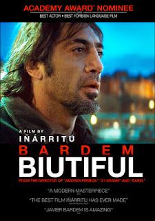 Biutiful, Movie Poster, Javier Bardem, Alejandro Gonzalez Inarritu