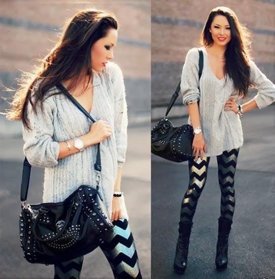 Dicas de como usar calça legging: Modelos lindos e super estilosos