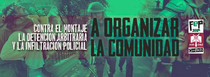 ÑUÑOA: Gran Peña Solidaria: No más montajes policiales.