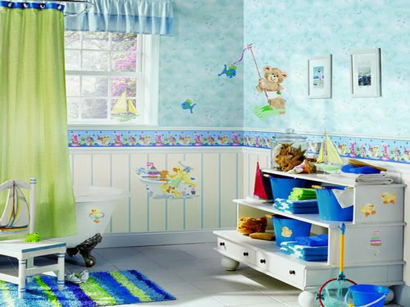 Kids bathroom decor bedroom and bathroom ideas - Kids bathroom design ...