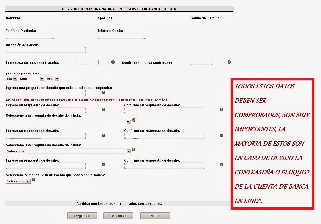 Banco bicentenario consulta de saldo por internet cuenta for Banco de venezuela consulta de saldo