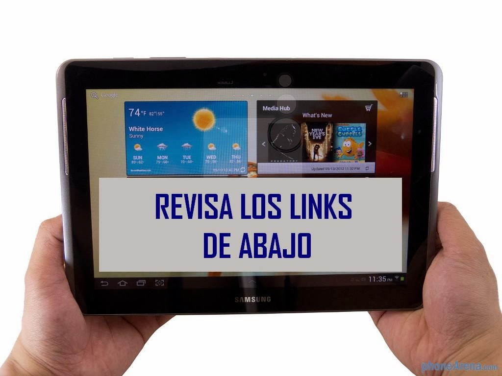 ¡Revisa los blogs y enlaces favoritos!