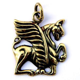 купить подвеску грифон из бронзы украина крым