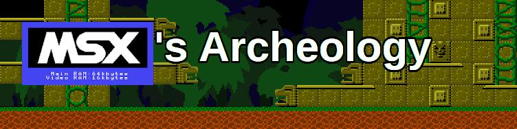 MSX's Archeology