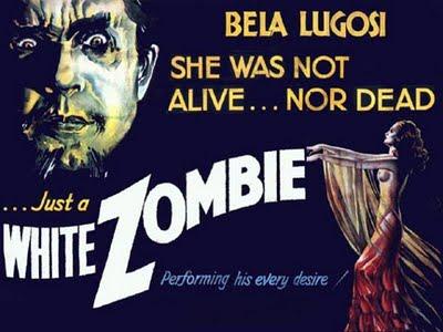 White Zombie Vintage 1932 Film Poster