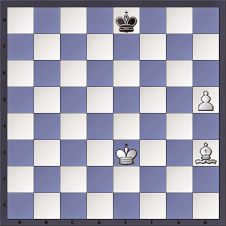 Une étude d'échecs de Troitzky