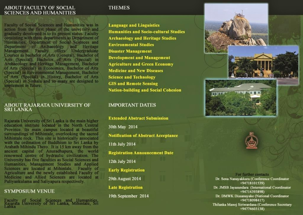 Call for Papers  Arunai Publications   DolPages