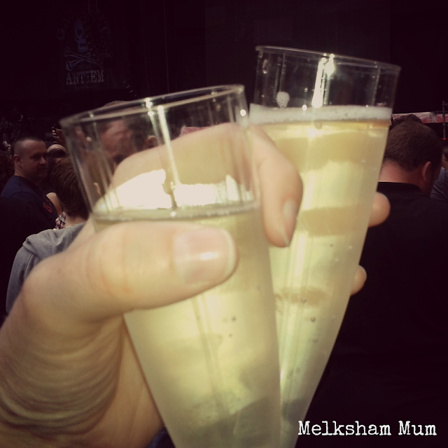 Prosecco at Wembley Stadium, The Killers, June 22 2013