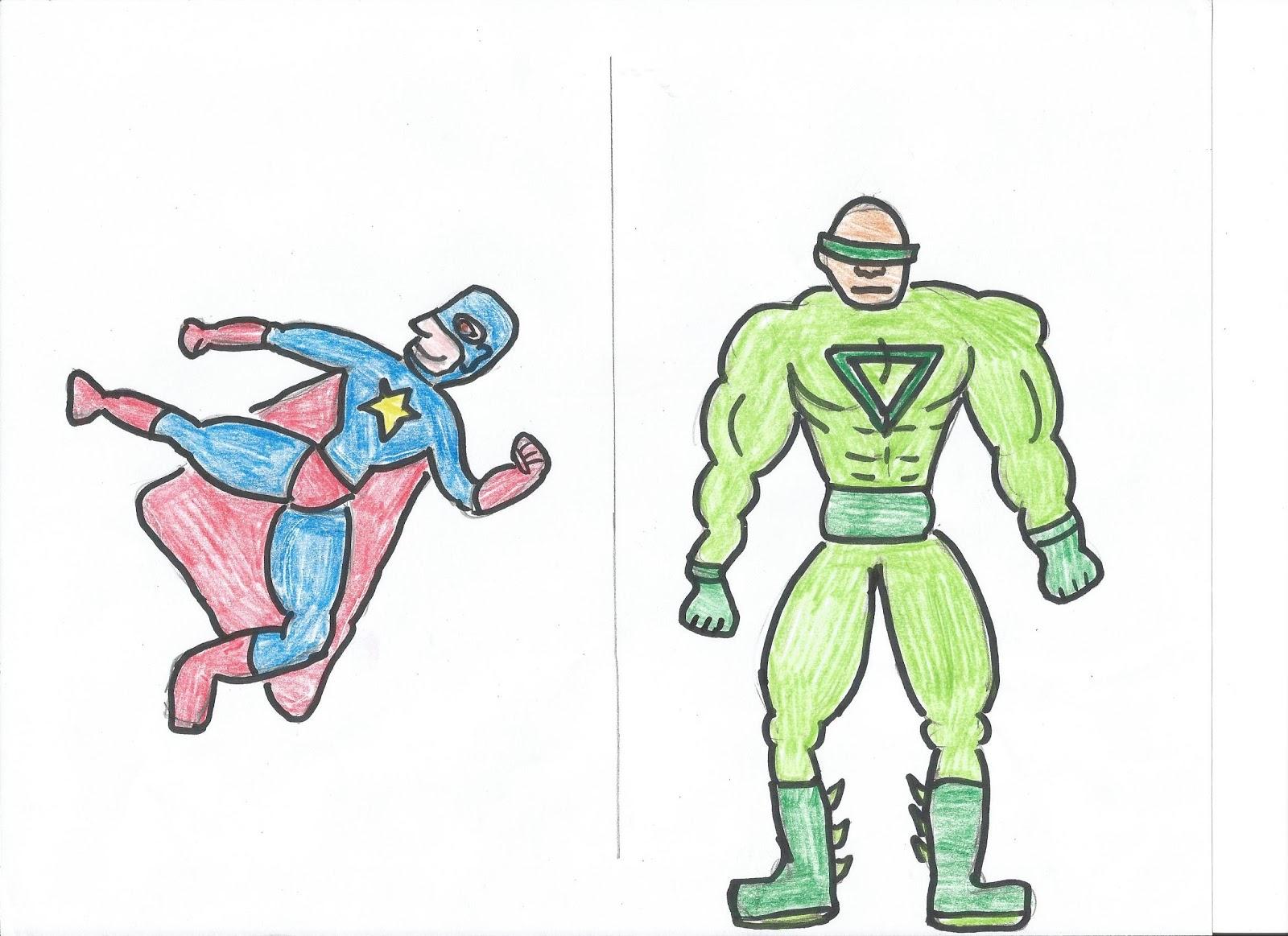 Pinteressaie janvier 2013 - Comment dessiner un super heros fille ...