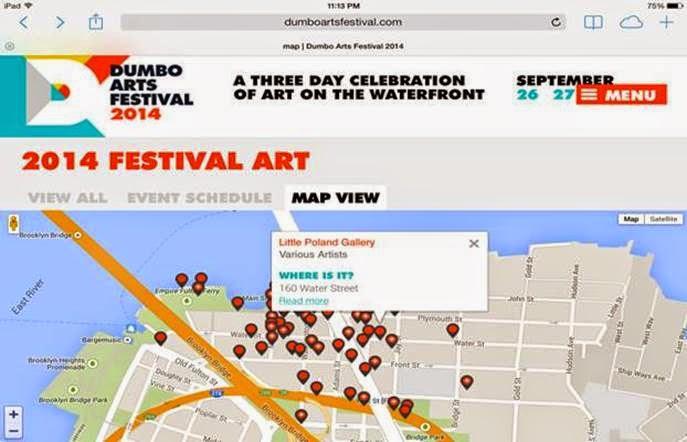 Renata Jaworska, New York, Dumbo Arts Festival, DAF,