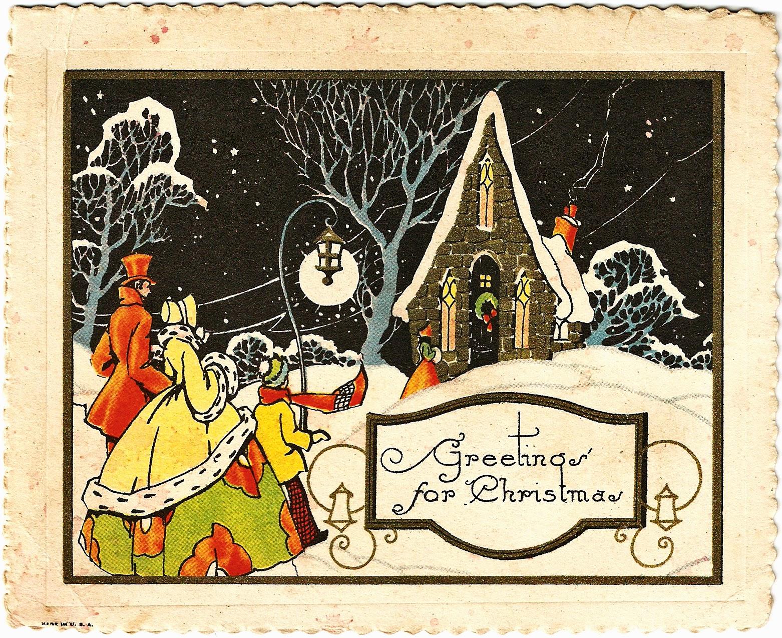 Книги о новогодних и рождественских открытках