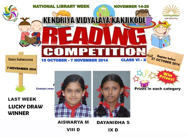 Reading Competition - Lucky Winner 4