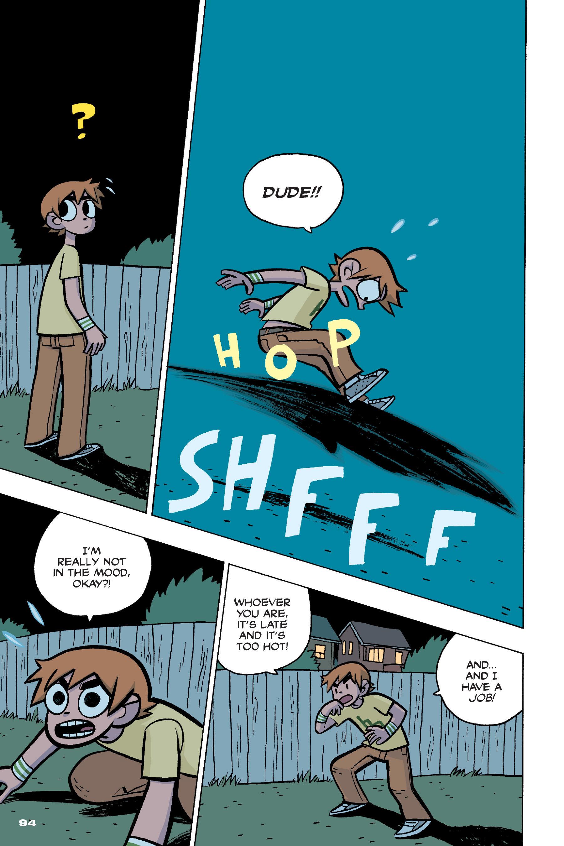 Read online Scott Pilgrim comic -  Issue #4 - 92