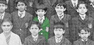 Shahrukh Khan's School day